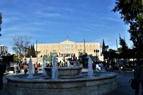 Greek Parliament building at Athens