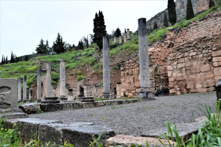 Roman Agora at Delphi