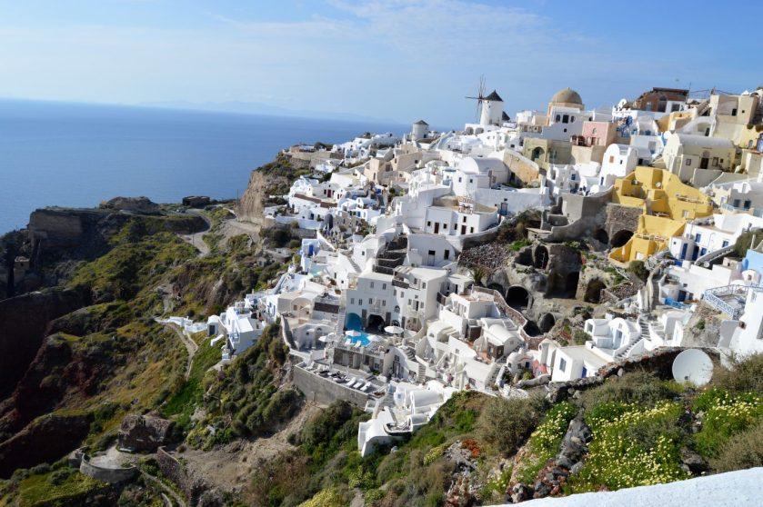 Scenic Oia village