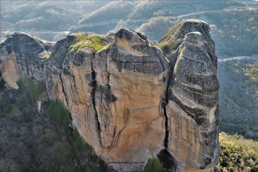 Towering Rocks of Meteora in Greece