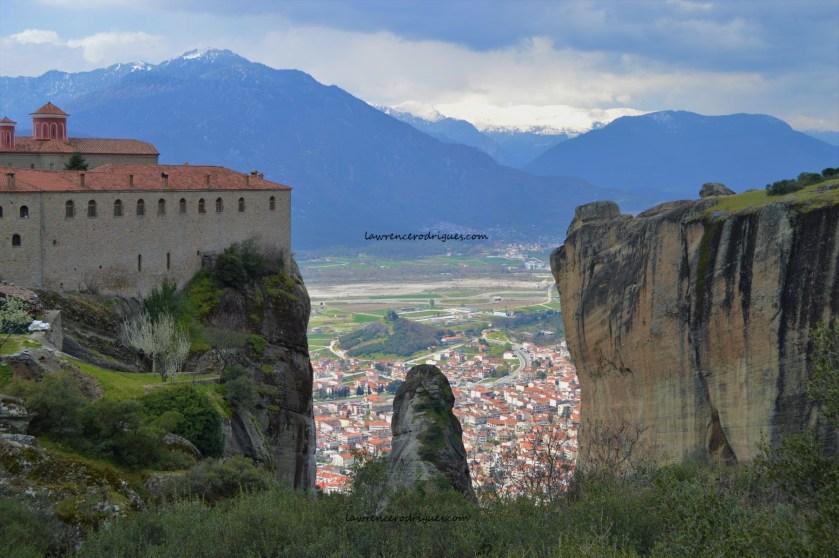 Rocks and monasteries of Meteora, Greece
