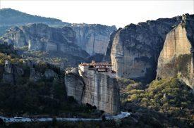 Rocks and Monasteries of Meteora in Greece