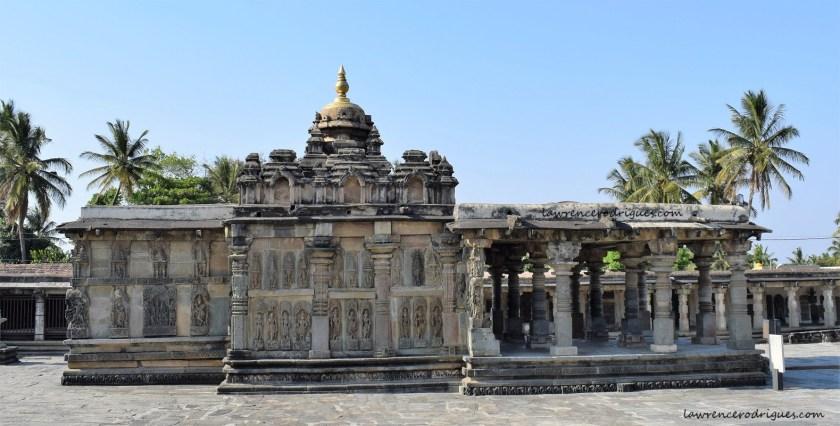 Ranganayaki Shrine situated northwest of the Belur Chennakeshava Temple complex in Karnataka, India