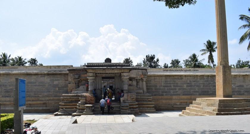 Mahadvara - Outer entrance to the Somanathapura Keshava Temple in Karnataka, India