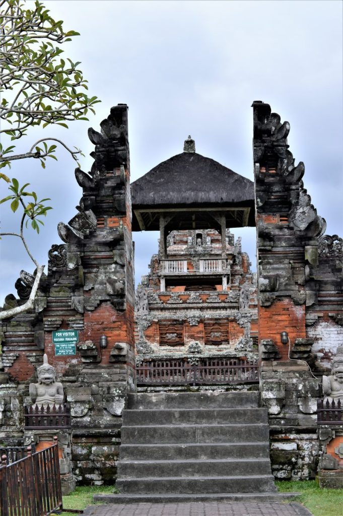 Inner sanctum of a temple in the Taman Ayun Temple complex in Bali, Indinesia