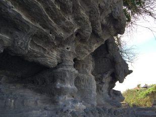 Tanah Lot Temple rock in Bali, Indonesia