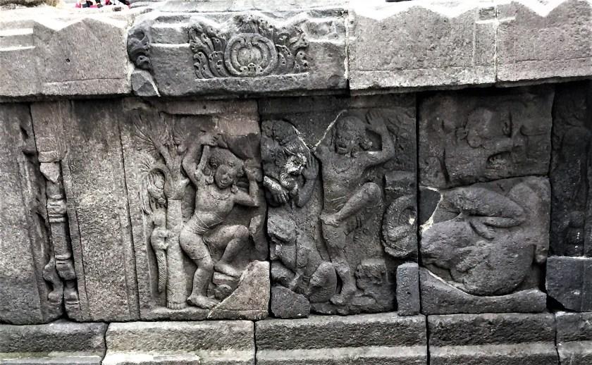 Krishnayana story - Krishna killing Vyomasura