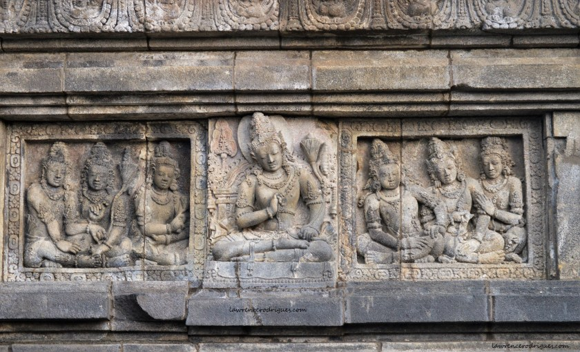 Lokapala in the Shiva Temple in Prambanan, Yogyakarta, Indonesia
