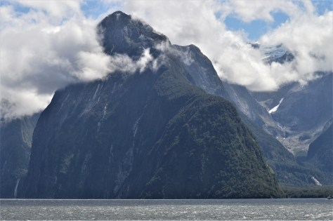 Lion Peak in Milford Sound