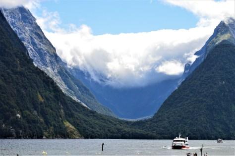 Sinbad Gully in Milford Sound, New Zealand