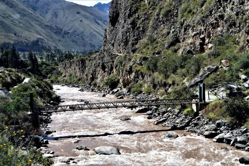 Urubamba River near Machu Picchu
