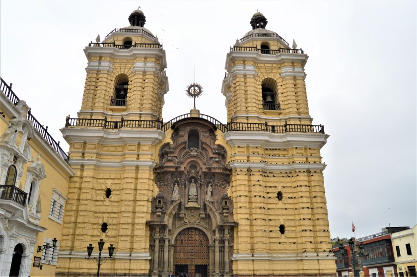 Monastery of San Francisco in Lima, Peru