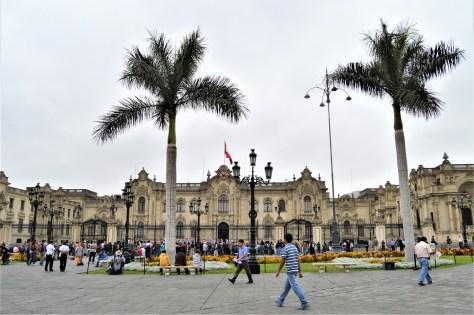Plaza Mayor of Lima, Peru