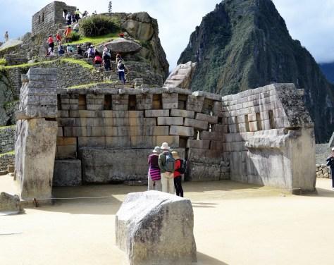 Principal temple Machu Picchu