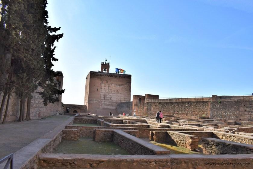Alcazaba - Torre de la Vela and Plaza de las Armas