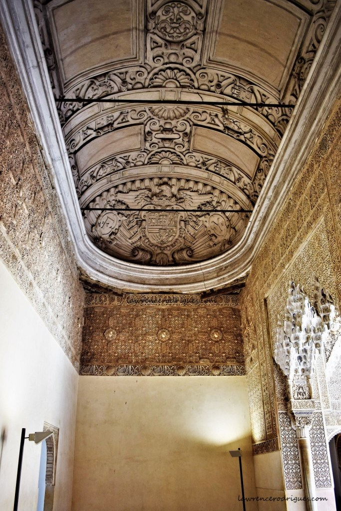 Hall of the Mocarabes located inside the Nasrid Palaces in Alhambra, Granada, Spain