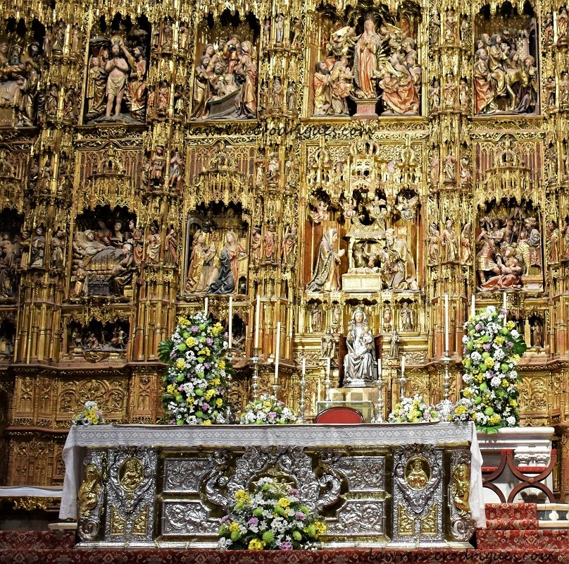 Altar Mayor of the Seville Cathedral, Spain