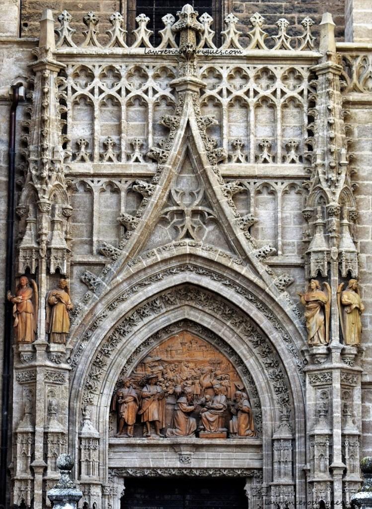 Puerta de Palos (Door of Sticks) in the Seville Cathedral