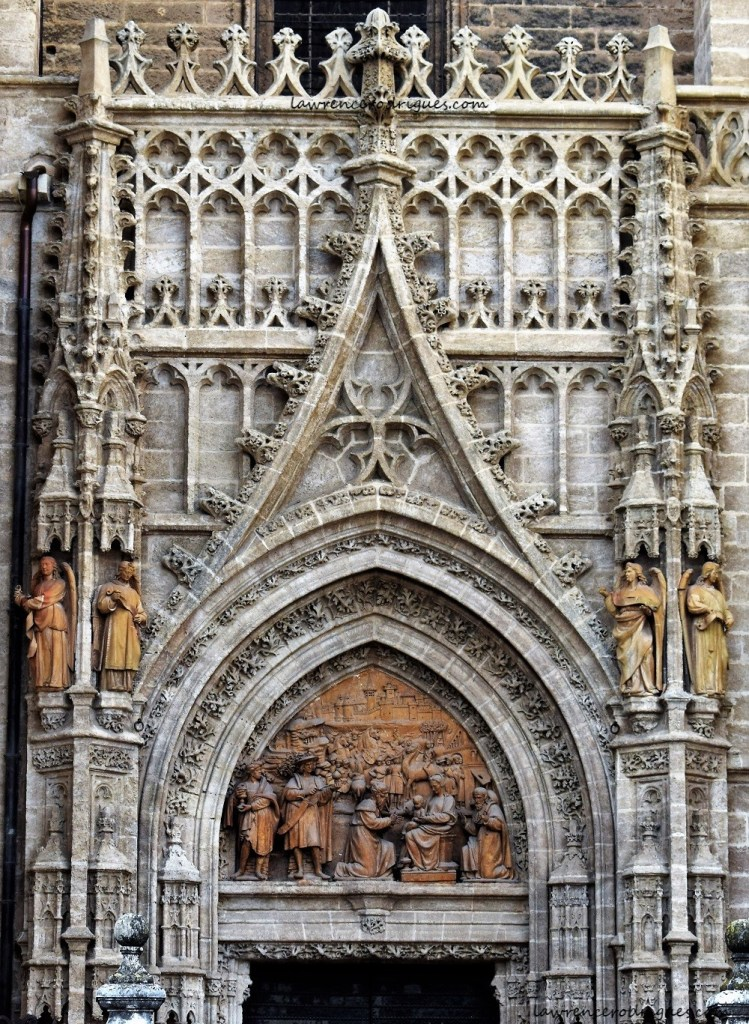 Puerta de Palos (Door of Sticks) in the Seville Cathedral