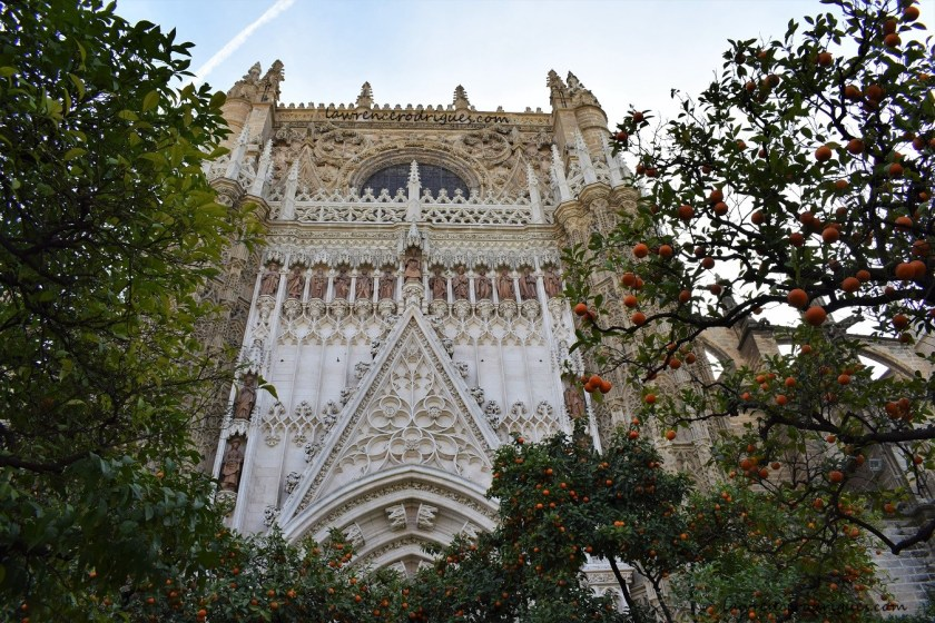 North Facade - Door of Conception on the North Facade of the Seville Cathedral