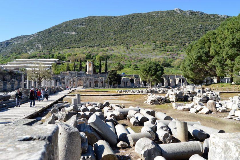 Commercial Agora in Ephesus, Turkey