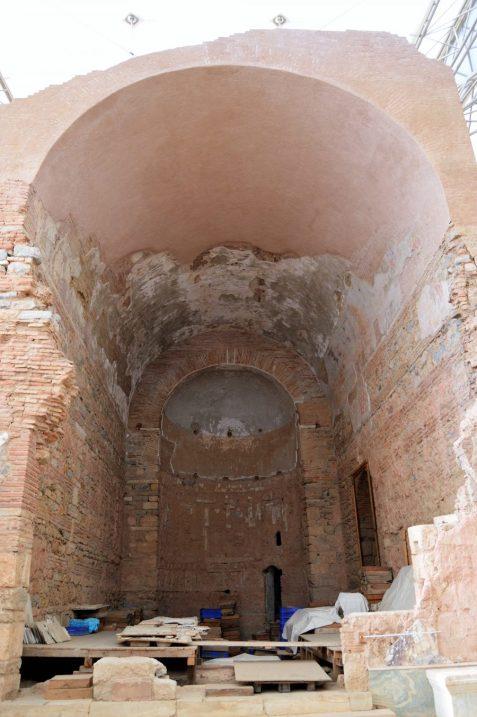 Arch in a Roman Terrace House in Ephesus, Turkey