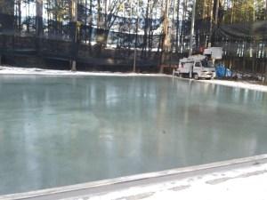 全面氷結大池
