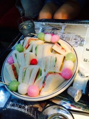 Sandwiches et Dango <3
