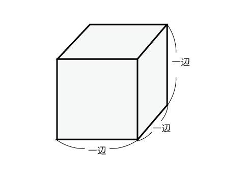 立方体の体積
