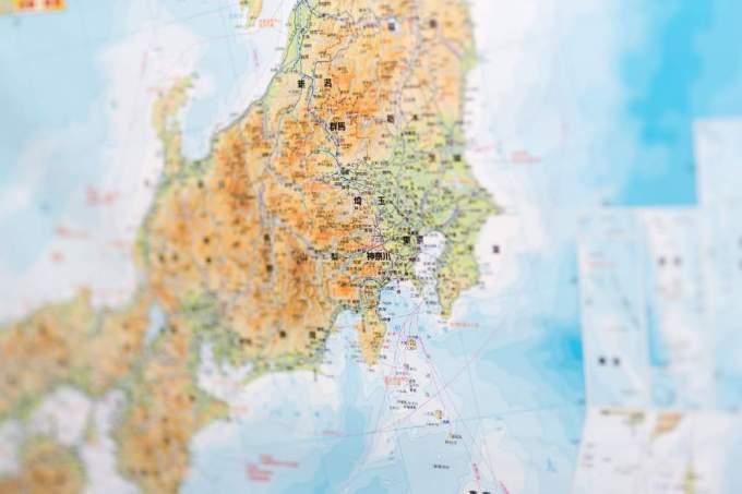 『都道府県の面積ランキング』一番大きい都道府県別は?