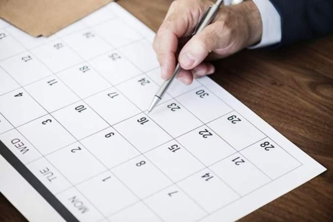 明日、明後日など日付の英語表現《まとめ一覧》|今週・来週・今月・来月など