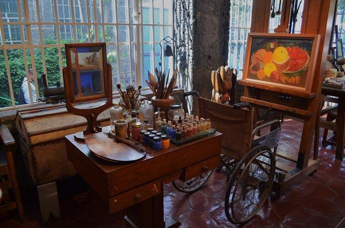 Мастерская Фриды Кало в Мехико