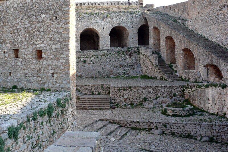 Крепость Паламиди. Нафплион