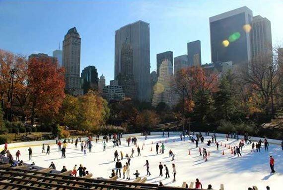 Центральный парк. Нью-Йорк