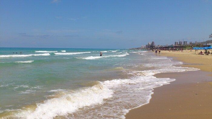 Хайфский пляж