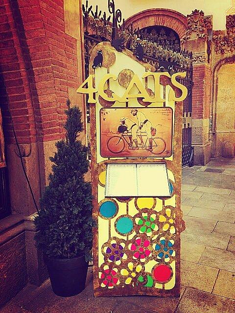 Els 4 Gats, Барселона