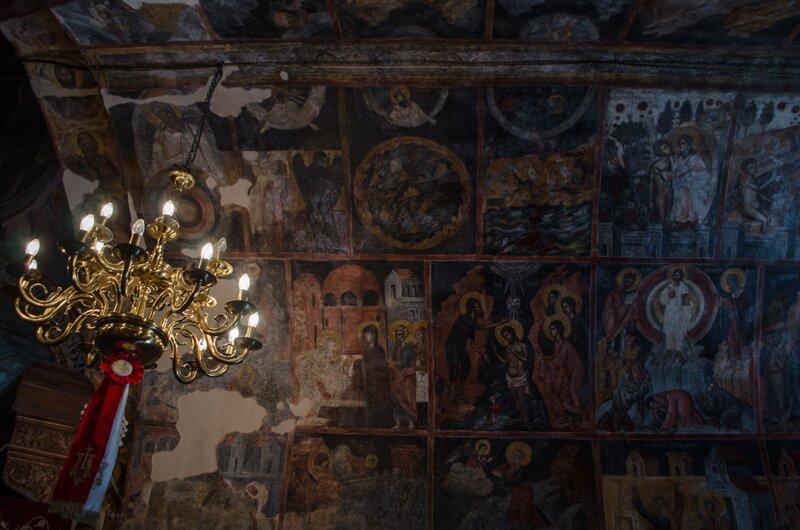 в церкви Асклипио, Родос