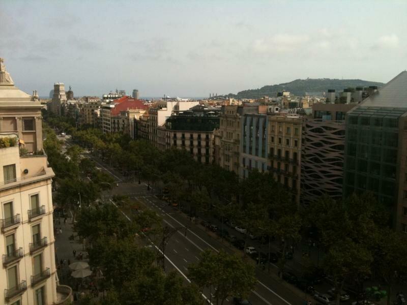 Вид на город с крыши Каменоломни