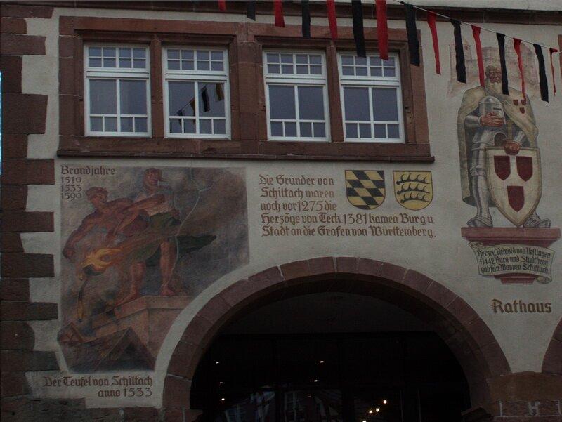 Фрески на ратуше Шильтаха