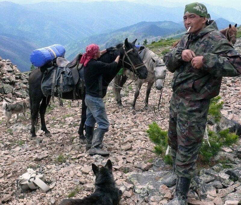Алтайцы очень уважают духов