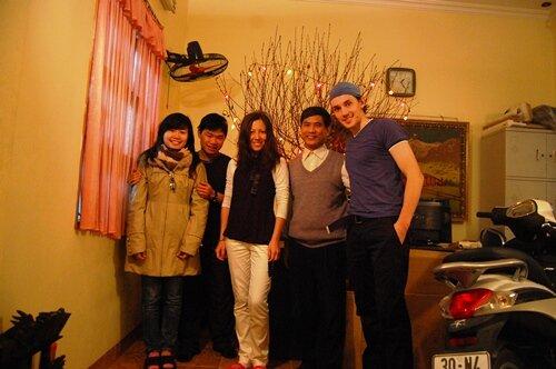 ТЭТ, новый год в Ханое