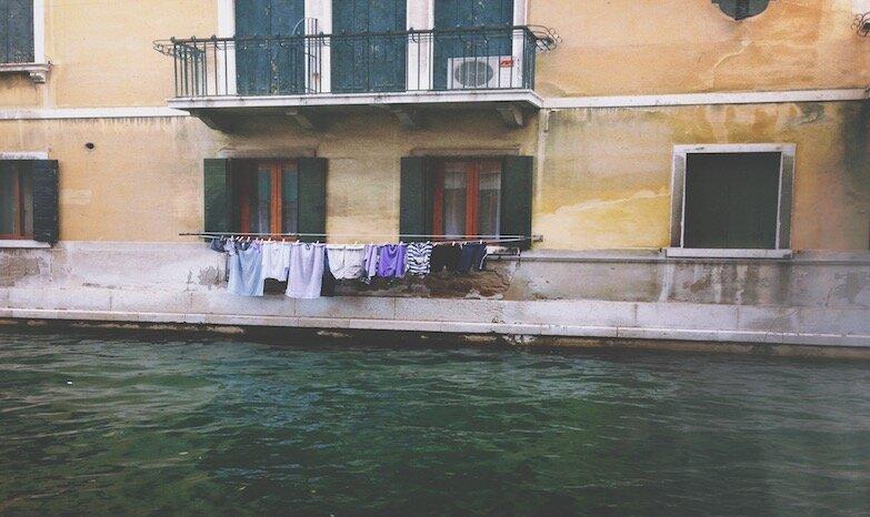 Вопреки сложившимся представлениям - один из типичных венецианских видов, Италия
