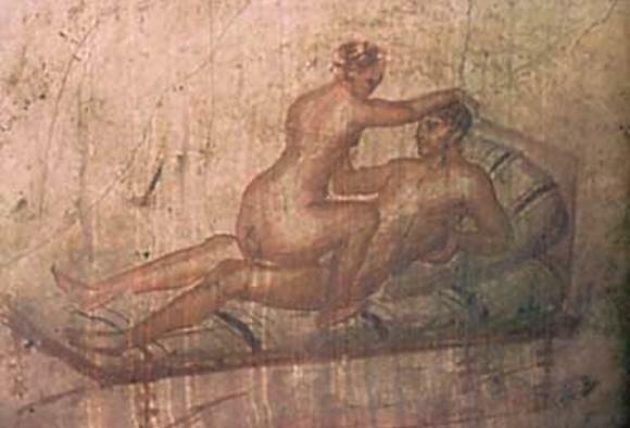 Сексуальные фрески италии