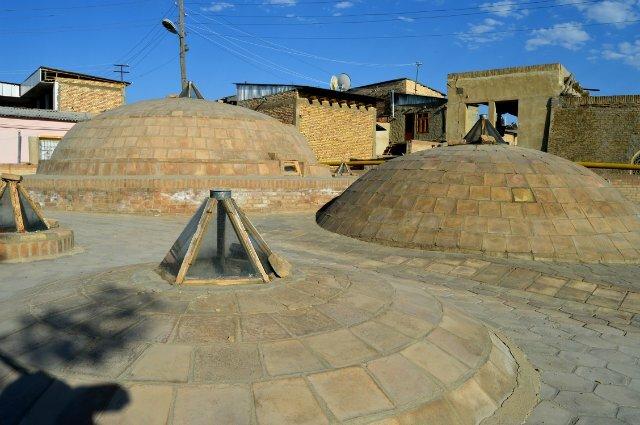Крыша хамама