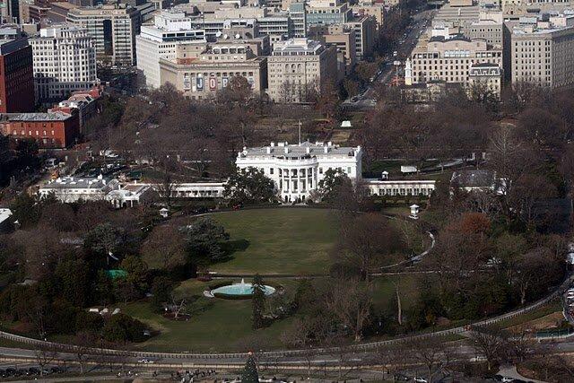 Вид на Белый дом