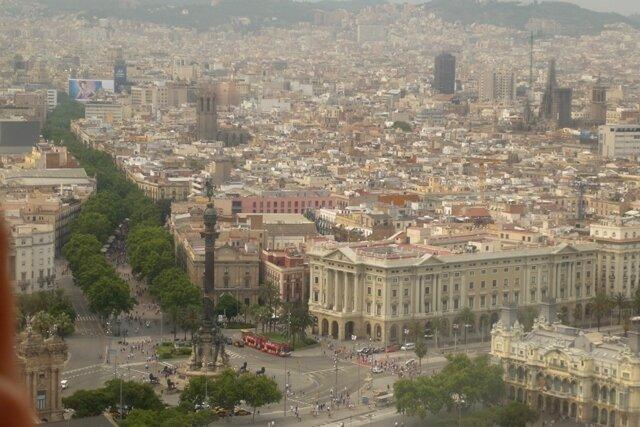 Барселона с очередной верхушки
