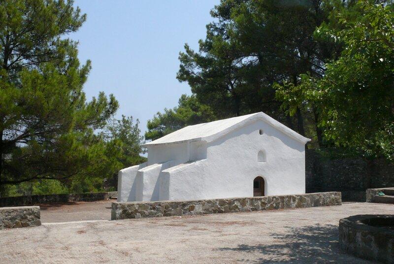 храм Зоодохос Пиги, Родос, окрестности Асклипио