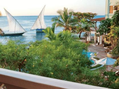 Танзания - страна великолепных пляжей и густых чащ