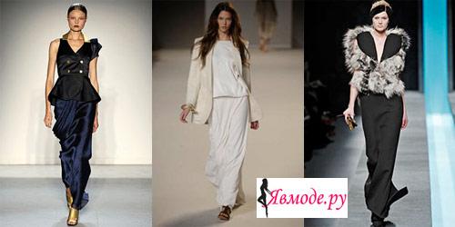 Модные юбки 2013 – длинные юбки