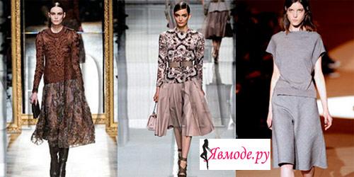Модные юбки 2013 – расклешенные юбки